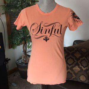 SINFUL brand t-shirt